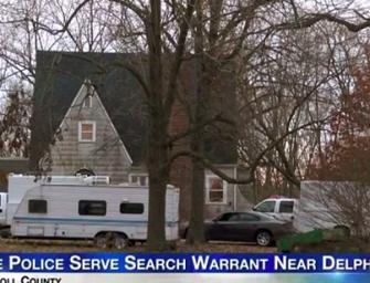 FBI美國印第安納州抓到一名嫌犯涉嫌暗殺兩名少女!