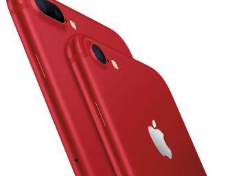 蘋果發行紅色版 iPhone 7 手機!