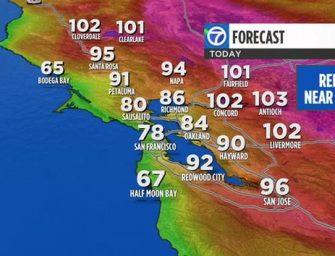 極度高溫要持續整周,大家一定要注意避暑!避暑啊!!!
