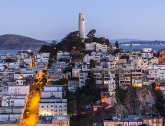 舊金山這裡看美景!居然可以看到歷史的讚嘆!