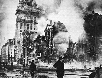 111年前的大地震!震碎了舊金山的掏金夢!