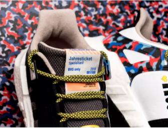 柏林人真走運:買新的阿迪球鞋,免費乘坐一年地鐵!