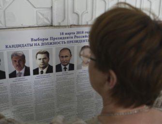 俄罗斯周日大选 普京获胜几乎无悬念
