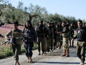 """库尔德武装誓言将成为土耳其军队的""""恶梦"""""""