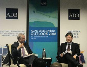 亚行乐观预期亚太经济,称中国有望实现转型目标
