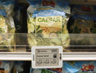 以色列智能電子標籤,實時調整產品價格