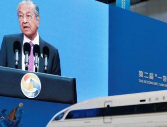 中国希望通过友好协商解决与马来西亚的合作问题