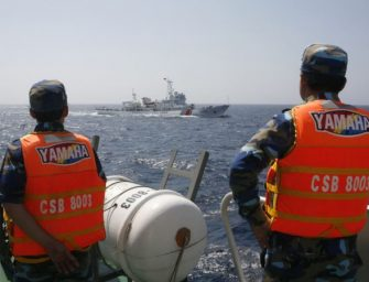 越南与中国在南中国海的最新对峙