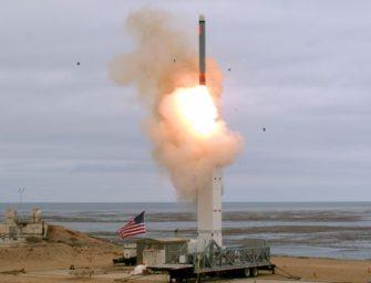中国与俄罗斯谴责美国进行导弹试验