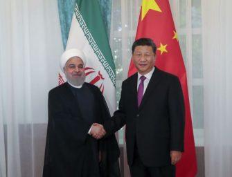 中国向伊朗的巨额投资或面临风险