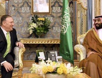 美参议员警告特朗普不要与沙特签署核协议