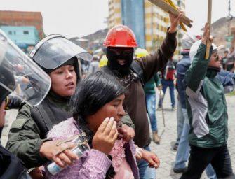 玻利维亚总统在抗议声中辞职 美国政府表示欢迎