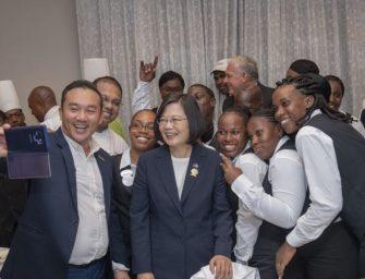 美台共组团队出访 防止小国转而承认北京