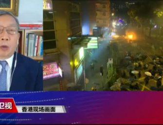 热点快评:大学校园成战场,六四悲剧距香港还有多远?