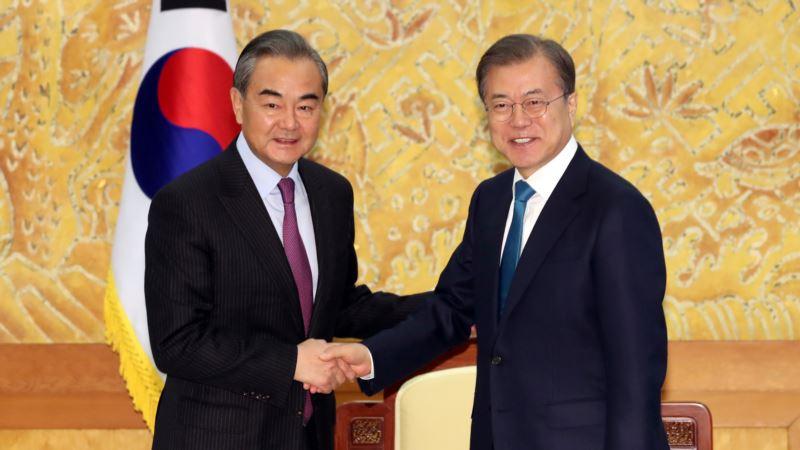 文在寅称朝核谈判处于关键时刻 呼吁中国发挥作用