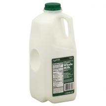 Food Club Whole Milk Vitamin D, 1/2 gal
