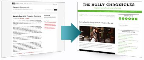 WordPress Genesis Theme Customizations by Simply Amusing Designs