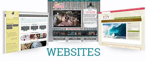 Custom Websites Developed by Simply Amusing Designs