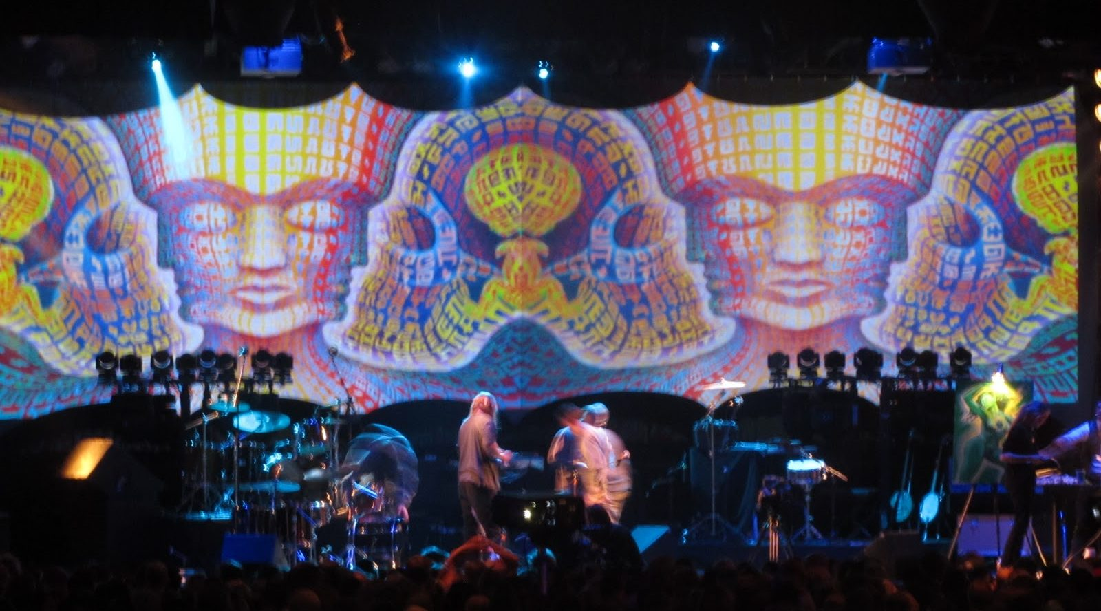 Visuals for Alex Grey