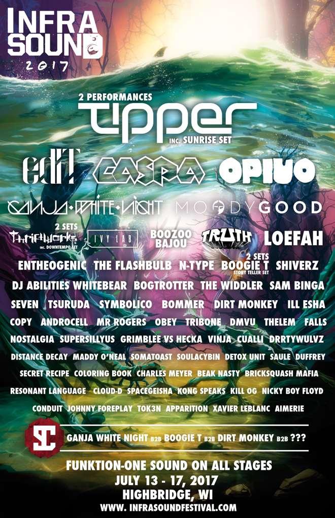 Infrasound Festival 2017 Lineup