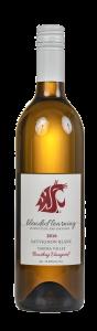 bottle of 2017 Sauvignon Blanc
