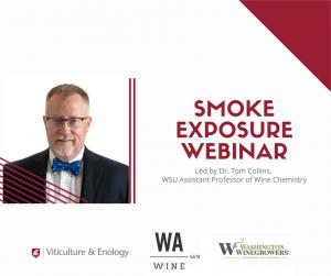 smoke exposure webinar promo photo of Dr. Tom Collins