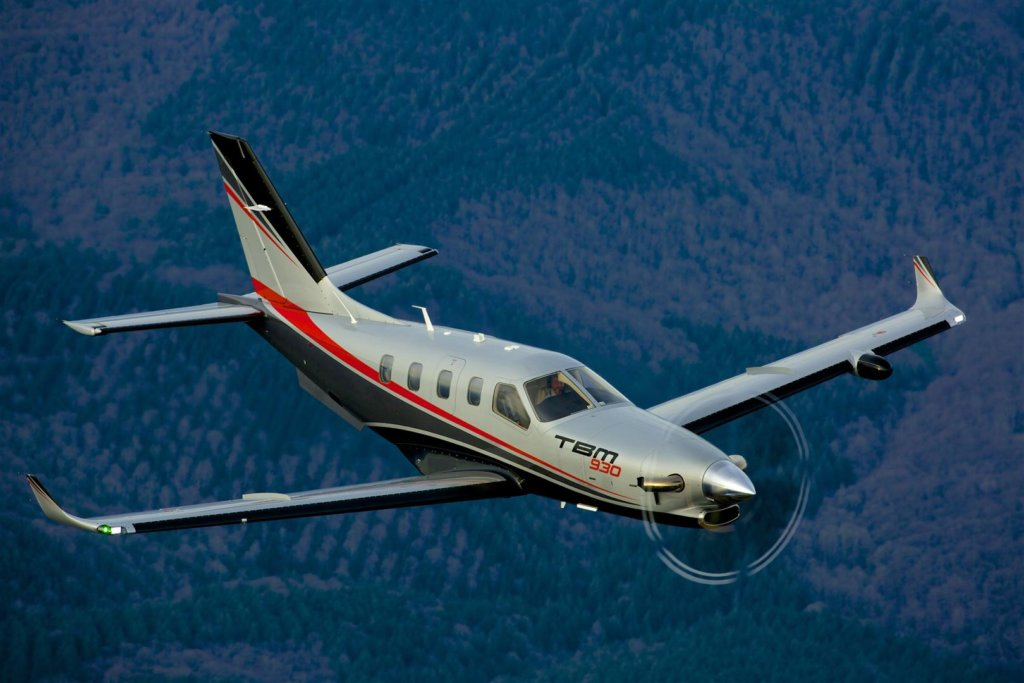 Daher expects to produce more than 50 of its TBM 900 and TBM 930 aircraft this year, roughly in line with last year's total. Daher Photo