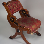 Victorian Furniture | Ebonized Mahogany Chair