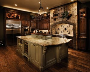 Medieval Kitchen Inspired By Old English Castles Kitchen Bath Design - Medieval Kitchen Design