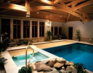 Creating Dramatic Indoor Pools | For Residential Pro