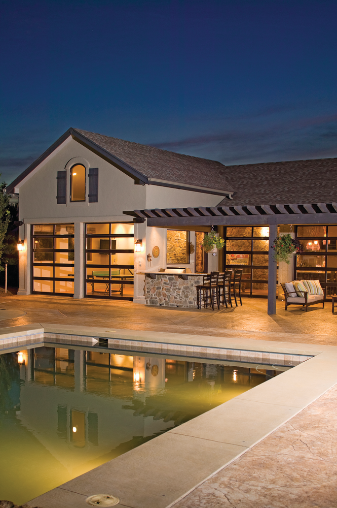 Poolside year round for residential pro for Year round pool residential