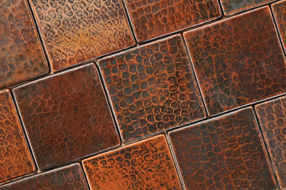 Recycled ceramic tile