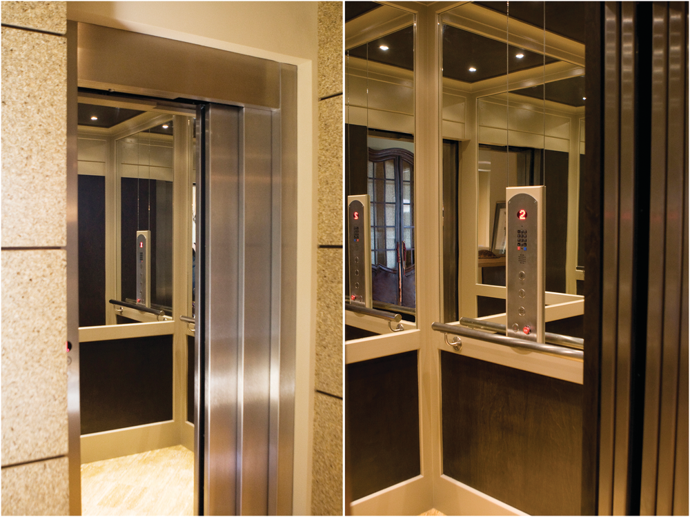 Residential elevators kitchen bath design for Home elevator kits