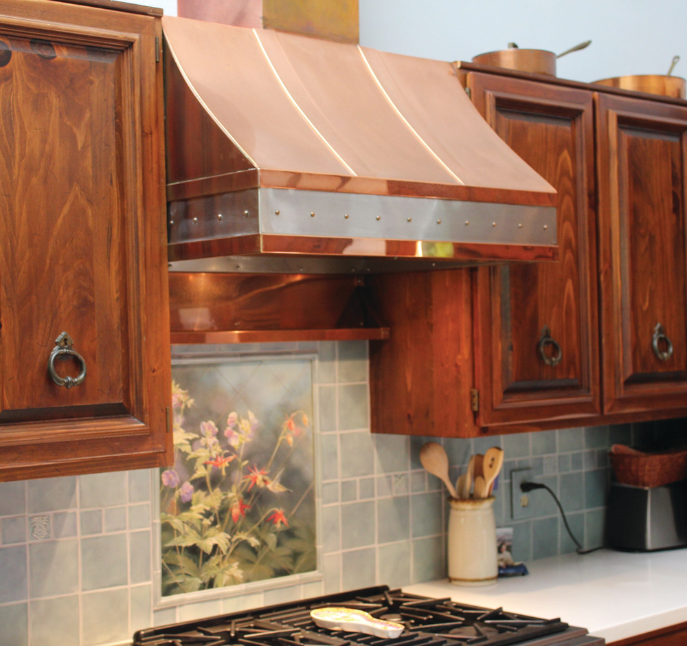 Copper And Zinc Range Hoods