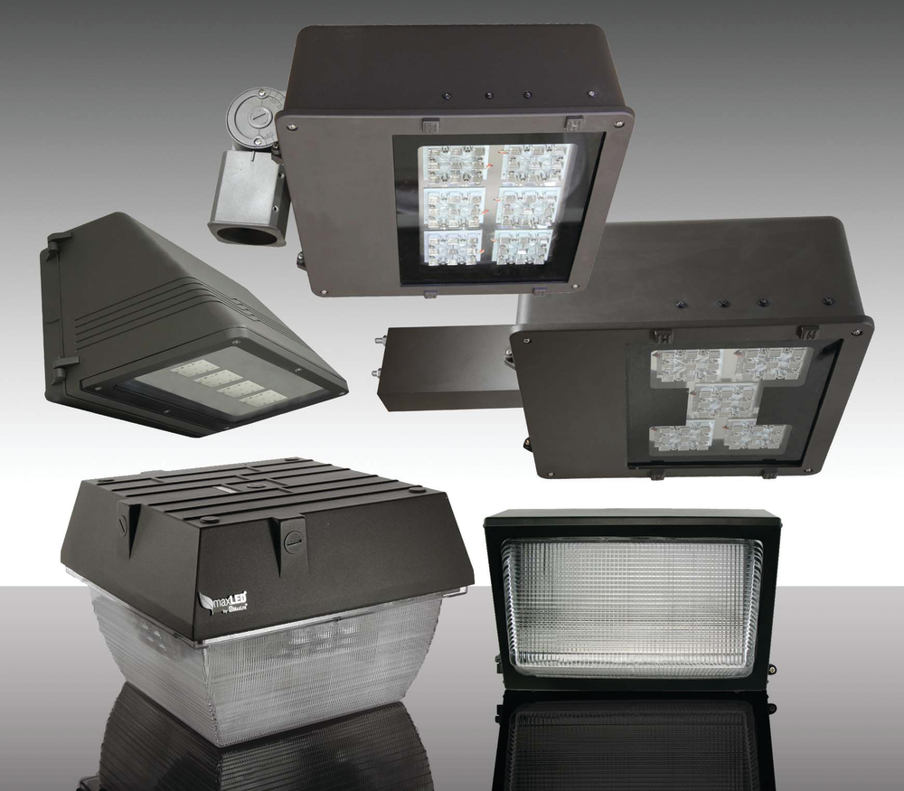 Led Light Fixtures Residential: LED Outdoor Lighting Fixtures