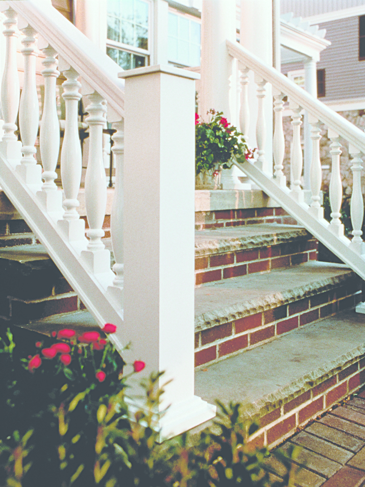 Balustrade systems for residential pros for Fypon balustrade