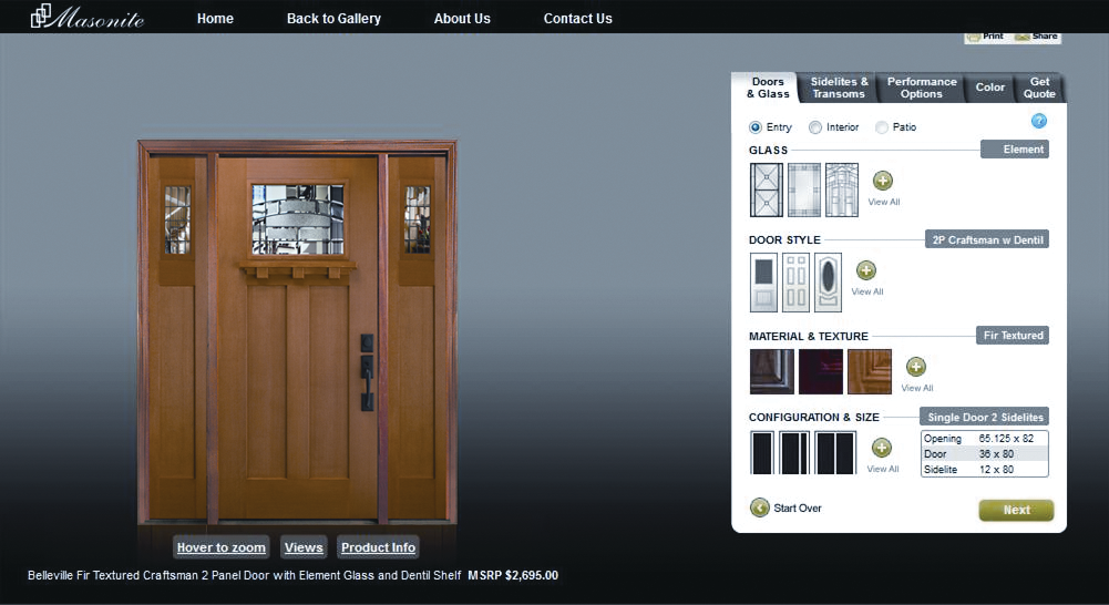 Masonite Xpress (MAX) Configurator & Masonite Xpress (MAX) Configurator | For Residential Pro