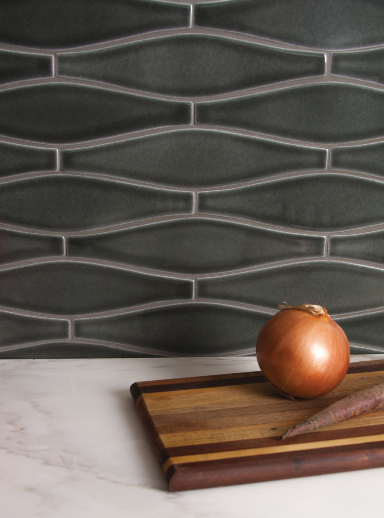 Wave Recycled Ceramic Tile For Residential Pros