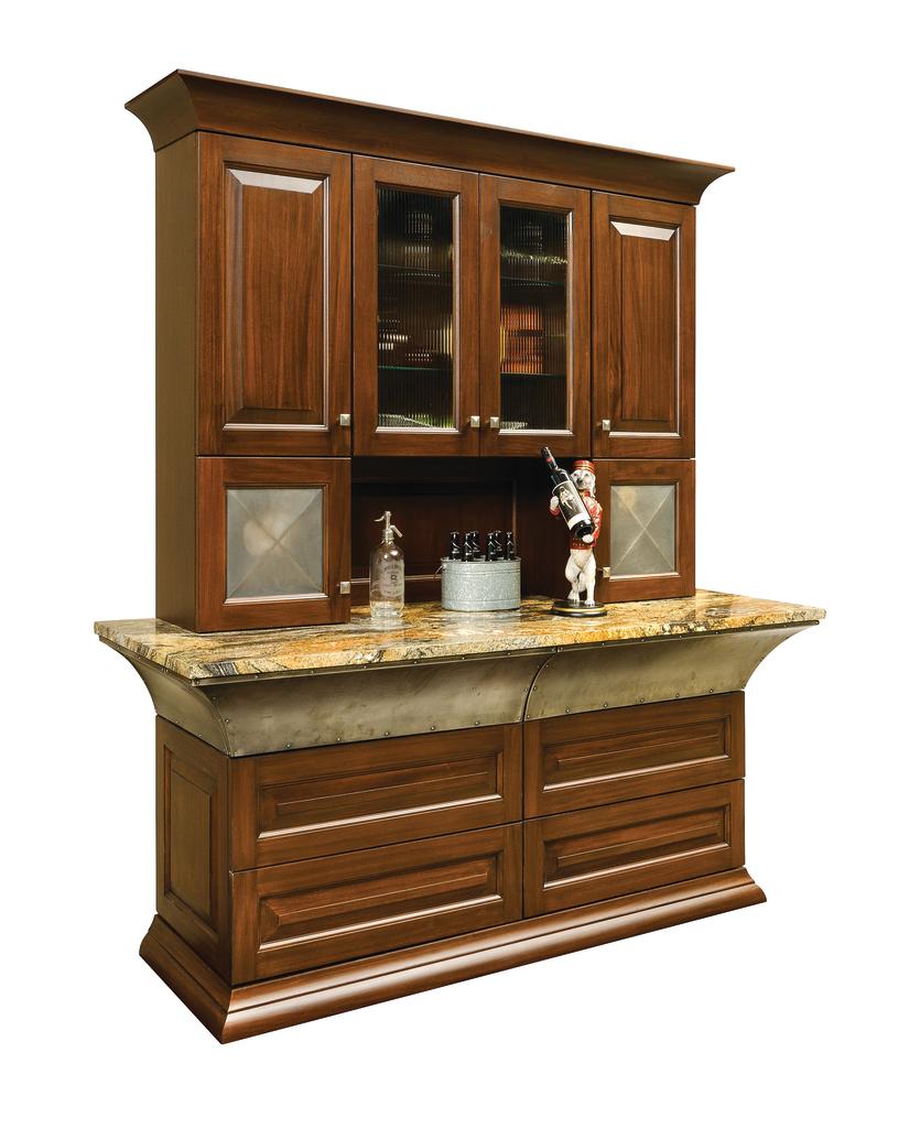 Jay Rambo Kitchen Cabinets: Sapele Wood Cabinets