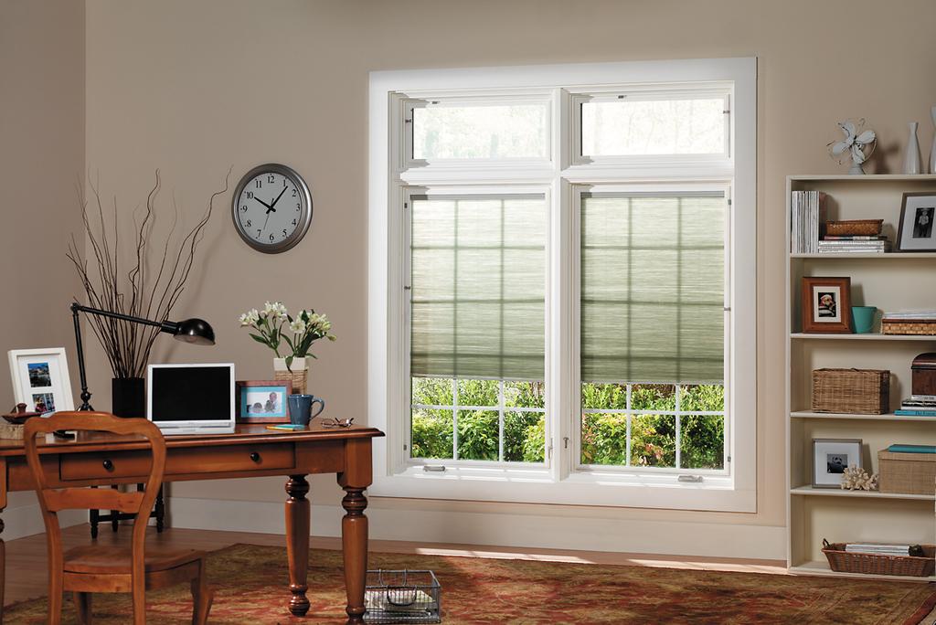 Pella casement window for residential pros for Best blinds for casement windows