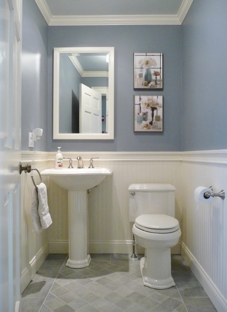 Elegant Half Bathrooms