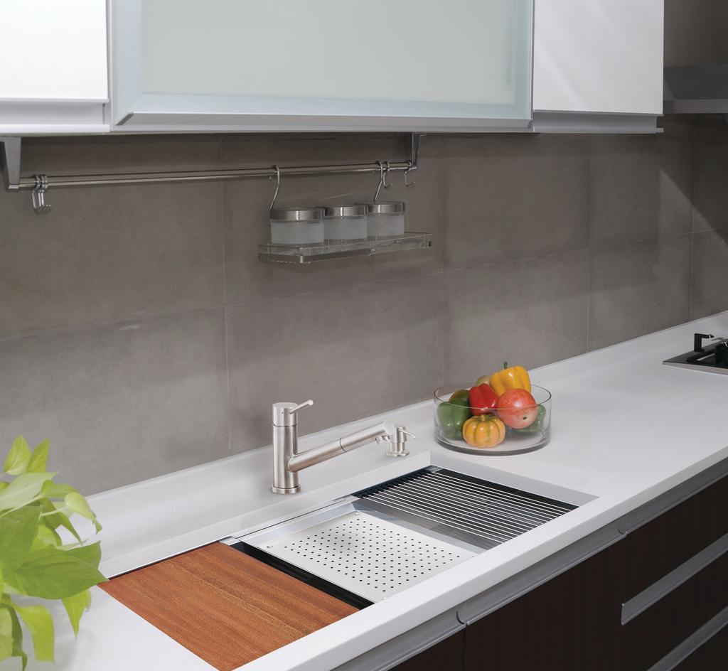 Ledge Prep Sink Line   For Residential Pros