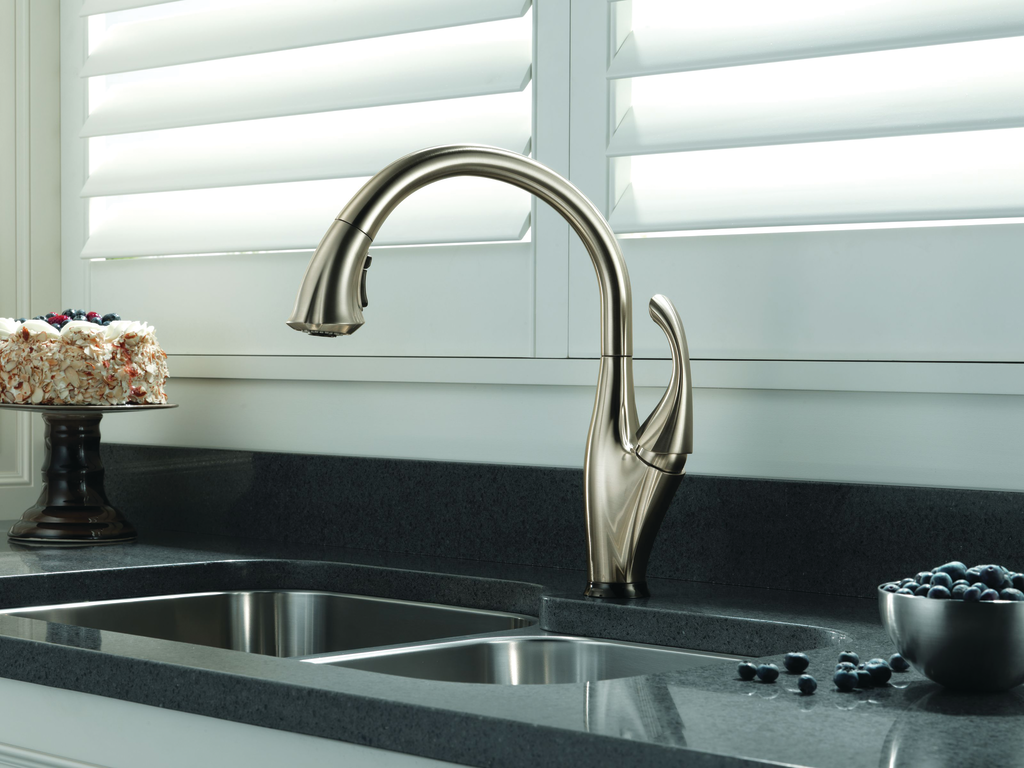 One Touch Kitchen Faucet For Residential Pros