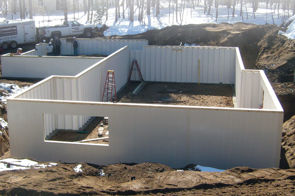 Composite Foundation Walls : Composite foundation walls for residential pros