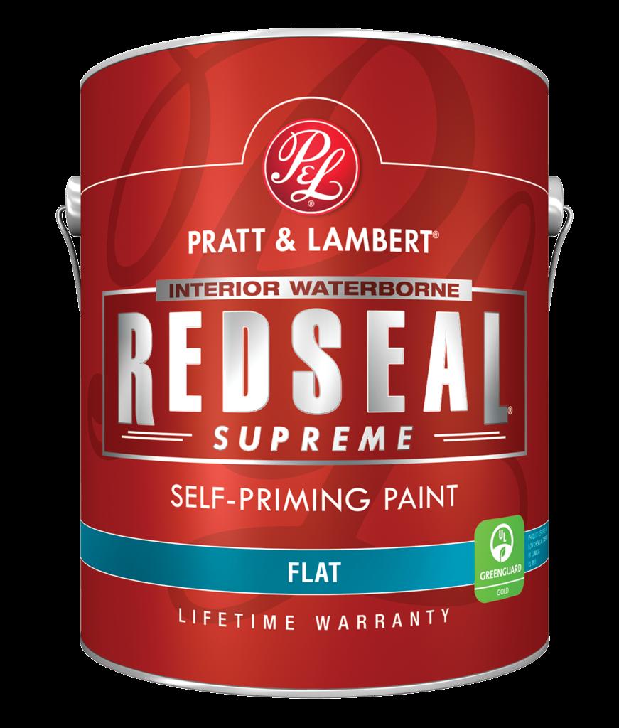 redseal supreme interior self priming paint for
