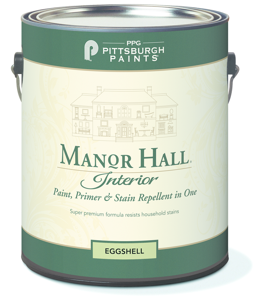 Manor Hall Interior Paint Primer Stain Repellant In One For Residential Pro