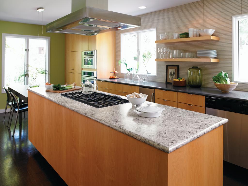 Laminate Kitchen Countertops San Francisco Honed Granite Kitchen Modern With Large Window