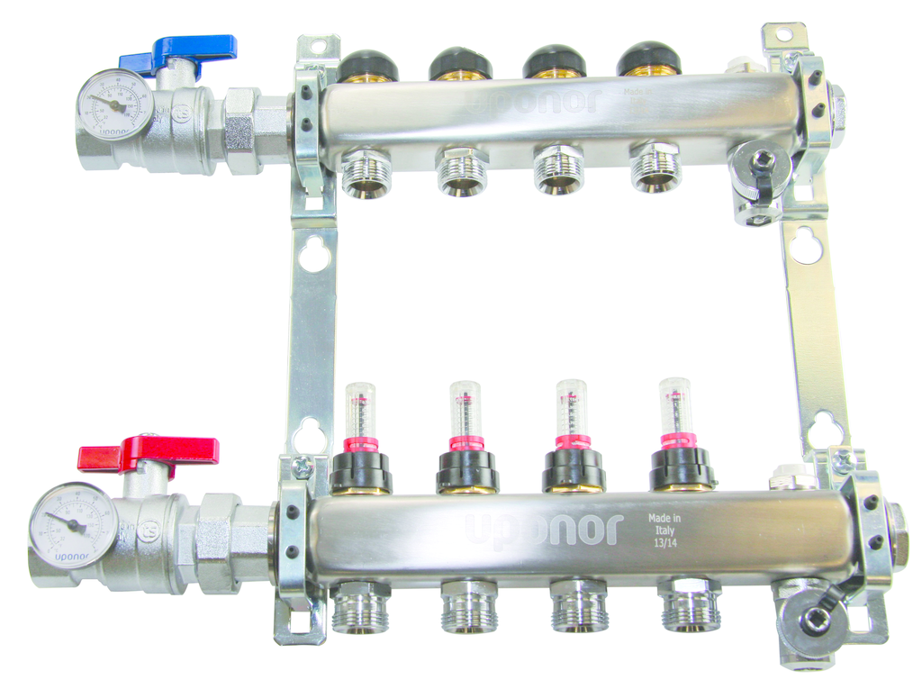manifold for radiant heating