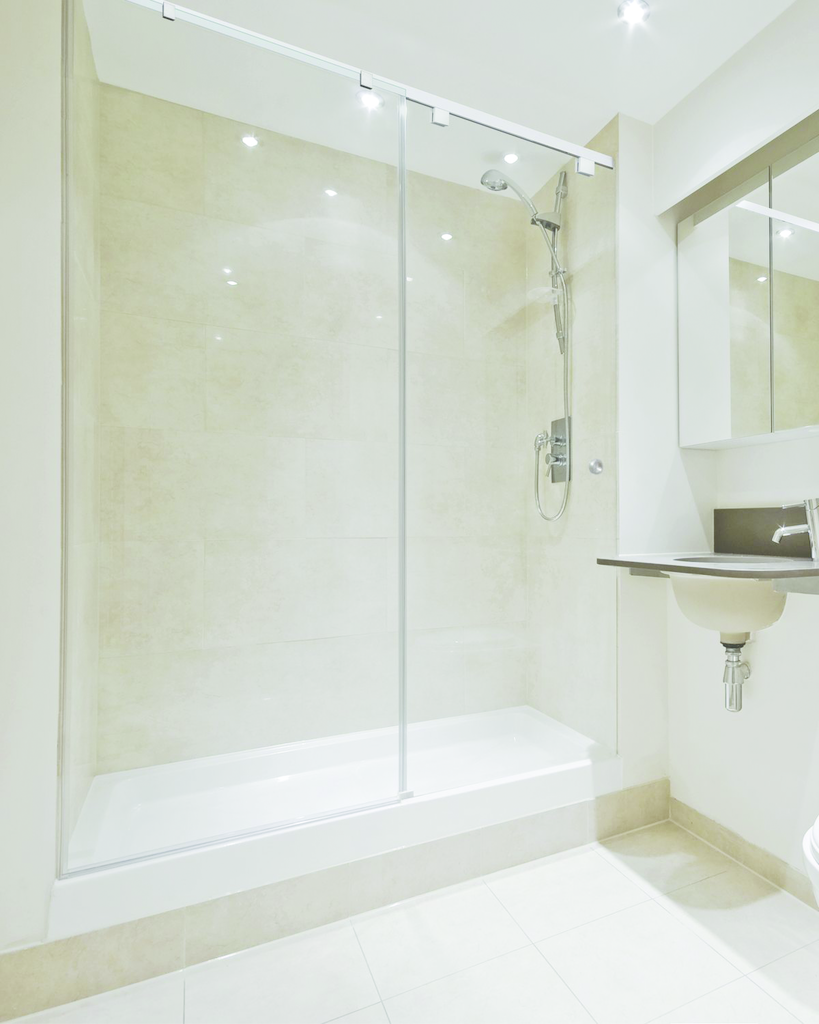 framed door frameless vs shower hardware laurence compare doors cr semi corner