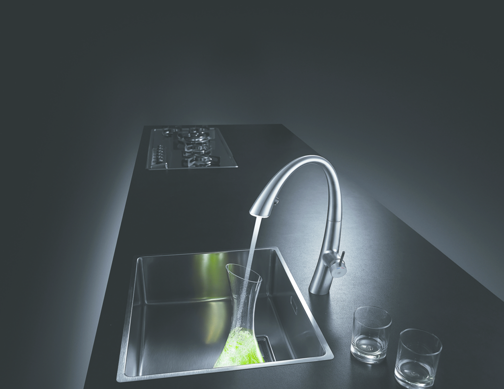 Pullout faucet features LED light ring | For Residential Pros